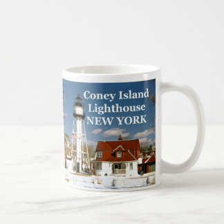Coney Island, New York Lighthouse Mug
