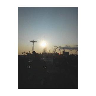 Coney Island, New York USA Canvas Print