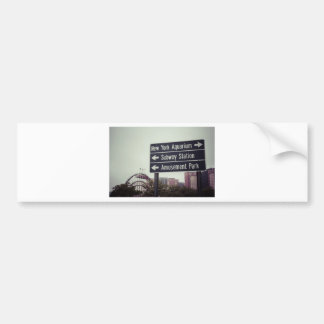 Coney Island Sign Bumper Sticker