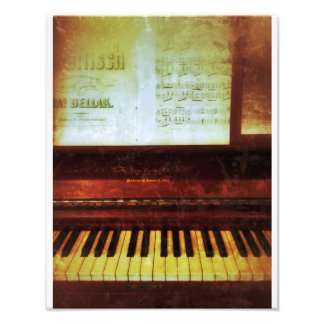 Confederate Piano Photo Print