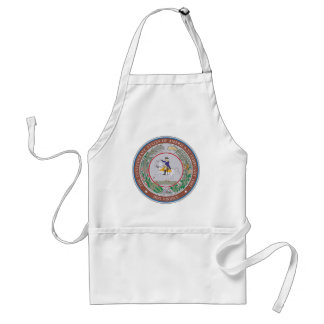 Confederate States of America Seal Standard Apron