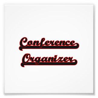 Conference Organizer Classic Job Design Photo