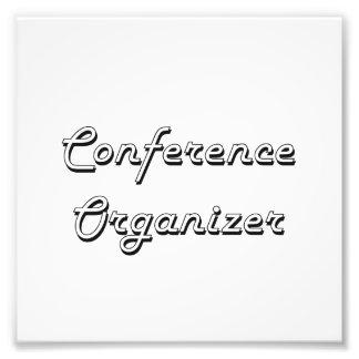 Conference Organizer Classic Job Design Photo Print