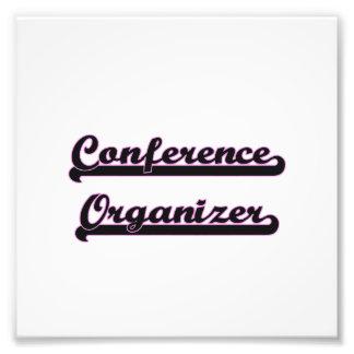 Conference Organizer Classic Job Design Photo Art