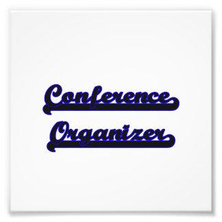 Conference Organizer Classic Job Design Photographic Print