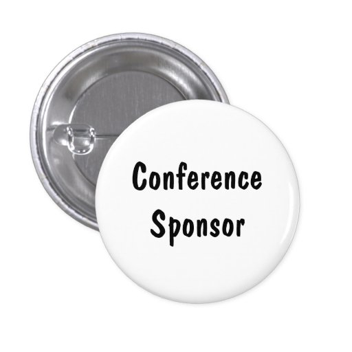 Conference Sponsor Pin