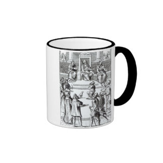 Confession for amends before the tribunal, after a ringer mug