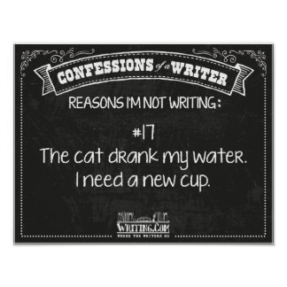 Confessions of a Writer: Reason #17 Poster