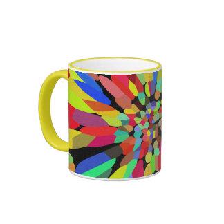 Confetti Flower Coffee Mug