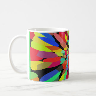 Confetti Flower Coffee Mugs