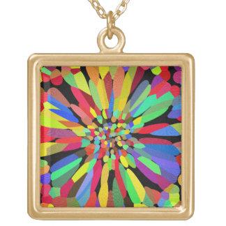 Confetti Flower Necklaces