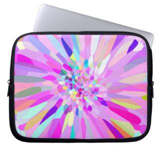 Confetti Flower Pastel Laptop Sleeves
