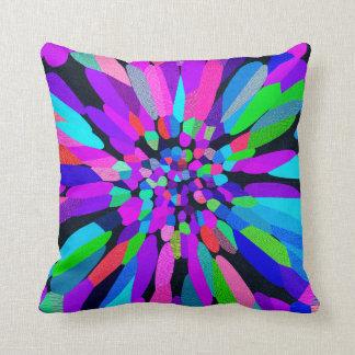 Confetti Flower Purple Cushions