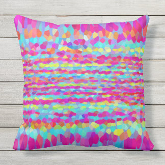 Confetti Fringe Cushion