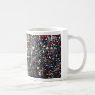Confetti Glitter Basic White Mug