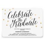 Confetti Grad   Graduation Invitation