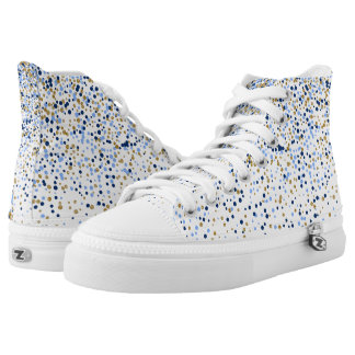 Confetti High Top Shoes Printed Shoes