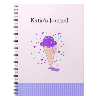 Confetti Ice Cream Journal