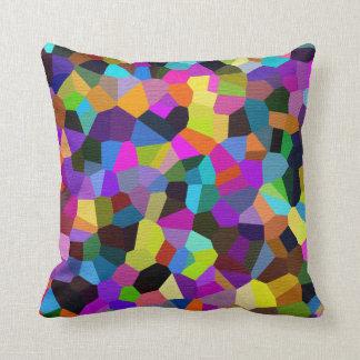 Confetti in Jewel Tones Cushion