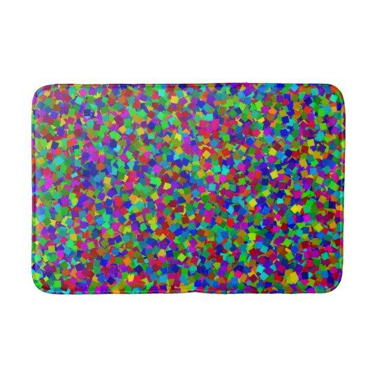Confetti - Multicolored Bath Mat