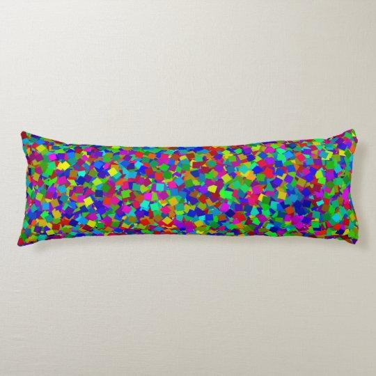 Confetti - Multicolored Body Cushion