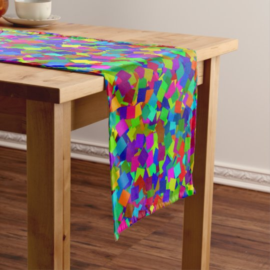 Confetti - Multicolored Short Table Runner
