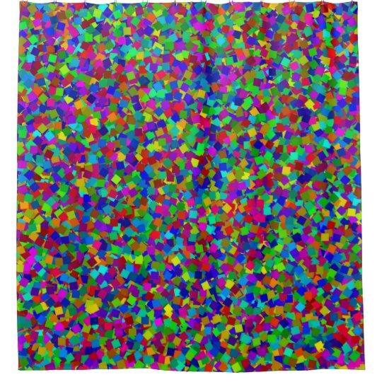Confetti - Multicolored Shower Curtain