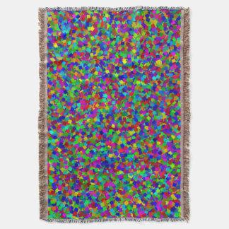 Confetti - Multicolored Throw Blanket