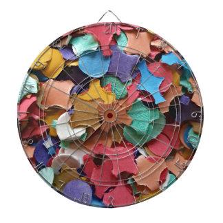 Confetti Party Carnival Colorful Paper Funny Dartboard