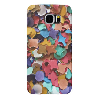 Confetti Party Carnival Colorful Paper Funny Samsung Galaxy S6 Cases