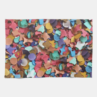 Confetti Party Carnival Colorful Paper Funny Tea Towels
