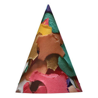 Confetti Party Carnival Colorful Paper Pieces Party Hat