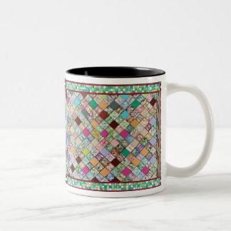 """Confetti Quilt"" Mug"