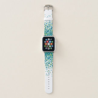 Confetti Teal Apple Watch Band