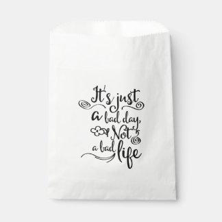 Confidence, Attitude, Life Goals, Dreams Quote Favour Bag