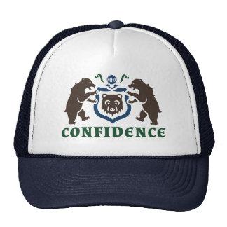 Confidence Bear Blazon Cap