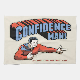 Confidence Man! Tea Towel