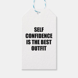Confidence Outfit Gift Tags