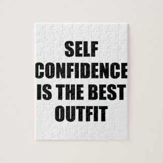 Confidence Outfit Jigsaw Puzzle