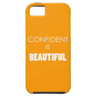 Confident Is Beautiful Confidence Believe iPhone 5/5S Case