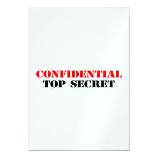 Confidential Card