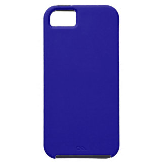 Confidently Clever Blue Color iPhone 5 Case