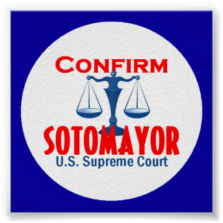 Confirm Sotomayor Poster