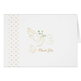 Confirmation | Baptism | Communion Thank You Card