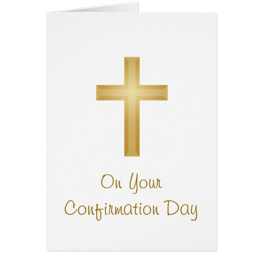 Confirmation Day Cards