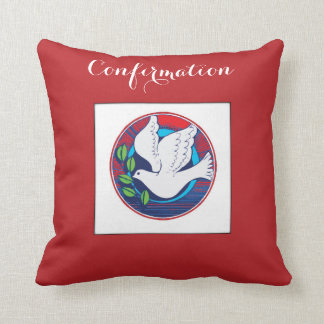 Confirmation, Dove Colorful, pillow, Towel, Gift Cushion