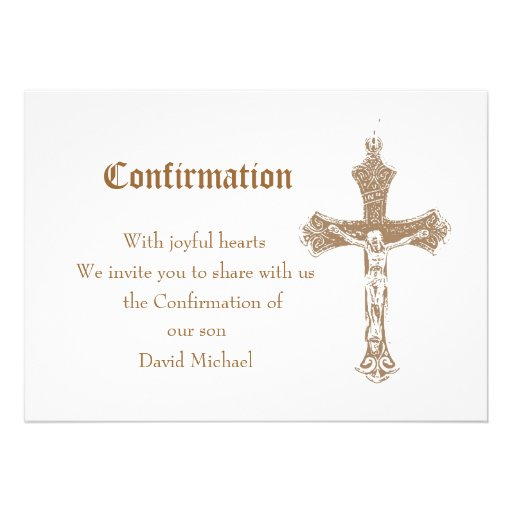 Confirmation Invitations, 2,000 Confirmation Invites ...