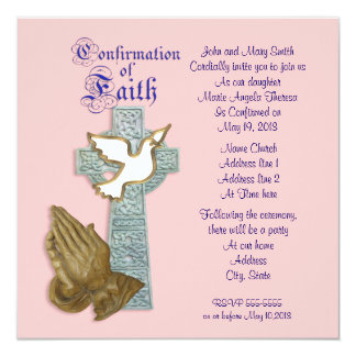 Confirmation Invitation