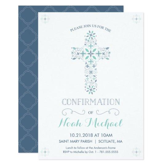 confirmation invitation catholic confirm invite zazzle com au
