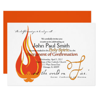 Confirmation Invite/Announcement: Perfectly Worded 13 Cm X 18 Cm Invitation Card